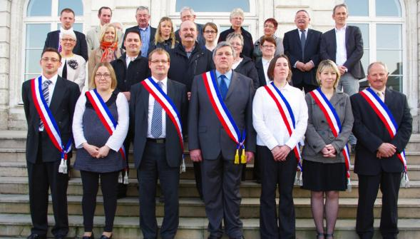Conseil municipal - Photo officielle